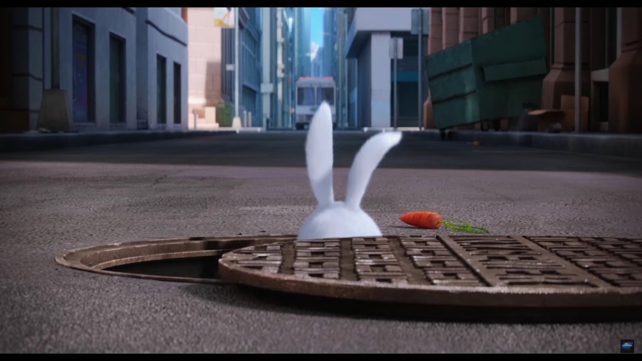 the secret life of pets trailer what do a bunny snake