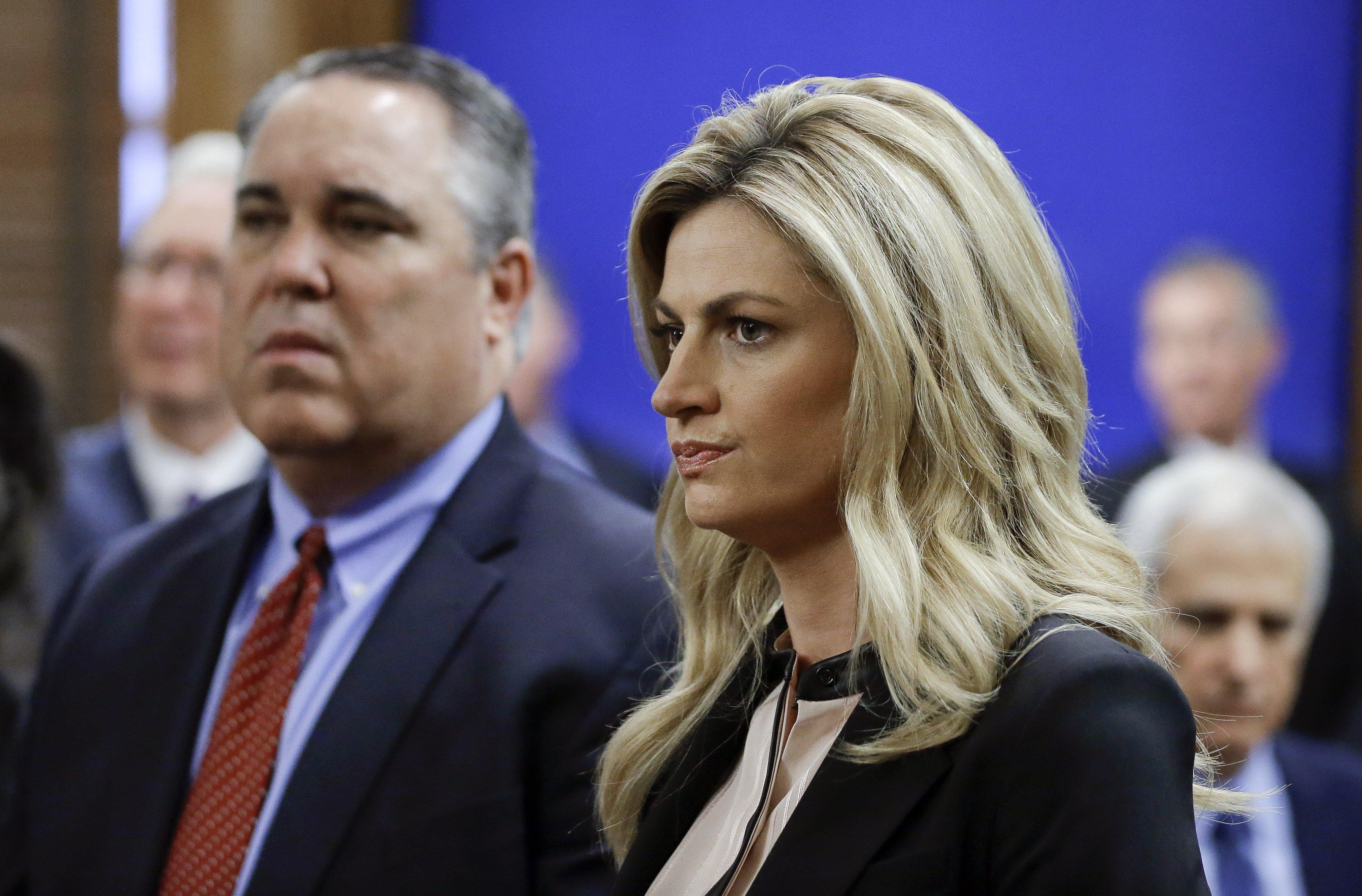 Sportscaster Erin Andrews Tearfully Tells of Shock Over