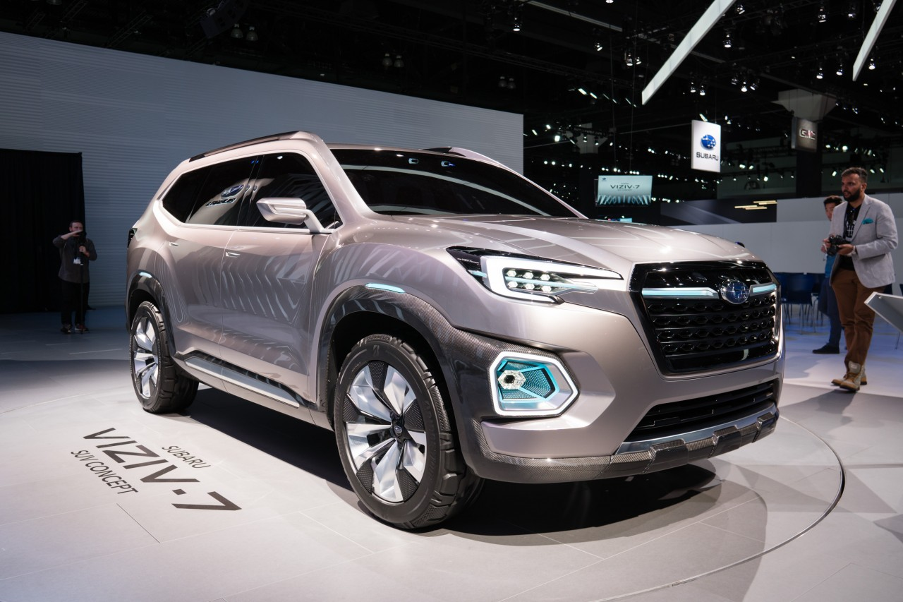 The Subaru Is Already A Por Choice Among Outdoor Enthusiasts And Its New Large Suv Could Boost Automaker S Presence In U Even More