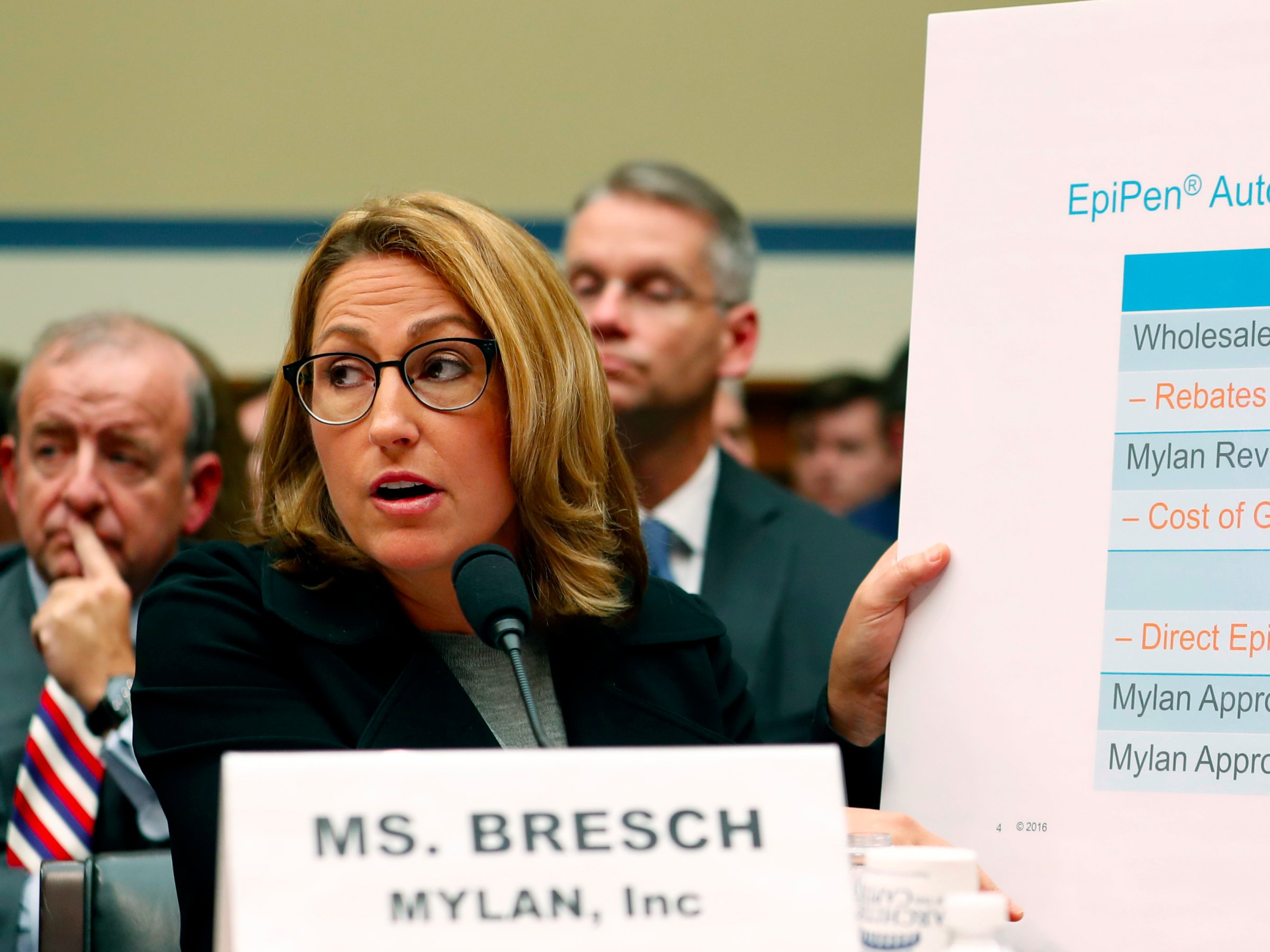 It sounds like the maker of EpiPen is freaking out ahead of