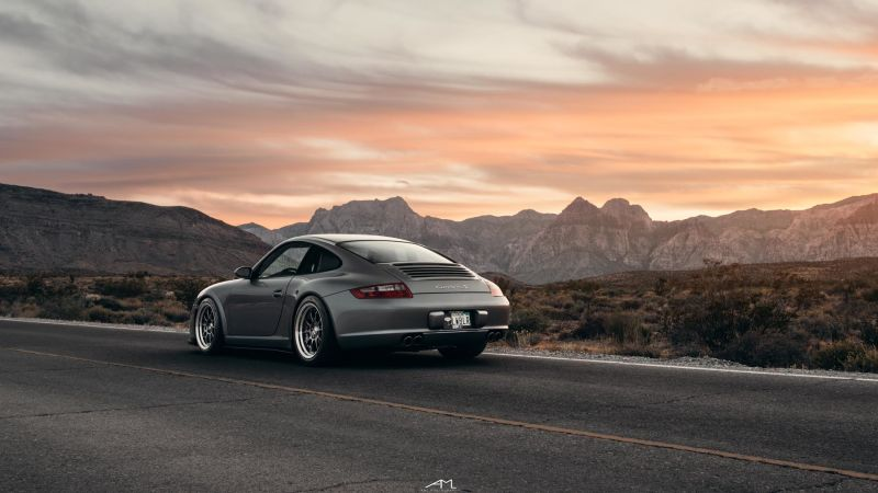 Your Ridiculously Awesome Porsche 997 Carrera S Wallpaper Is