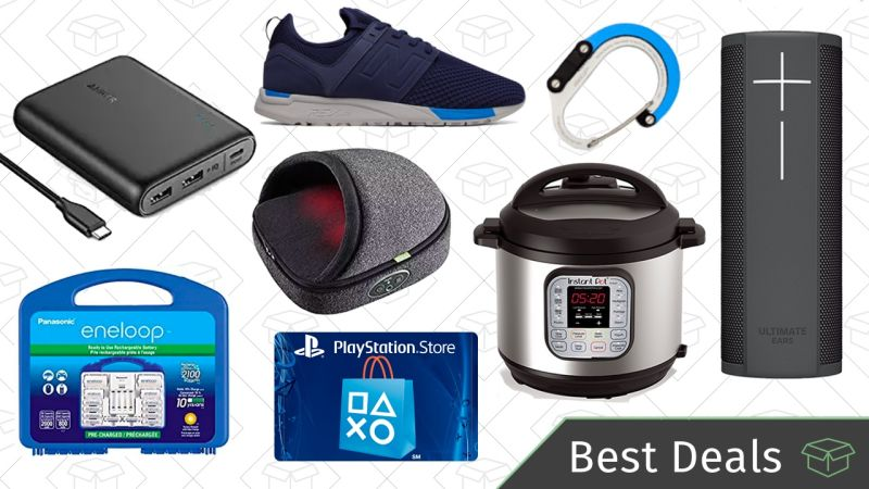 wednesday s best deals instant pot eneloops playstation store credit and more techkee. Black Bedroom Furniture Sets. Home Design Ideas
