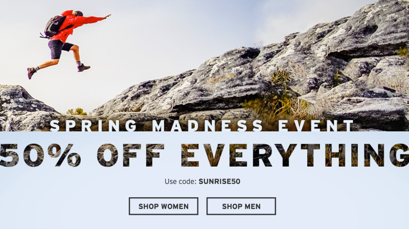 0a880a4a32147 50% Off Everything, Plus an Extra 50% Off Clearance | Eddie Bauer | Promo  code SUNRISE50 Image: Eddie Bauer